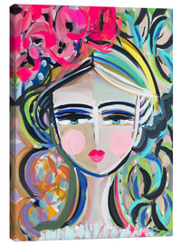 Canvas print  Blush and lipstick - Maren Devine