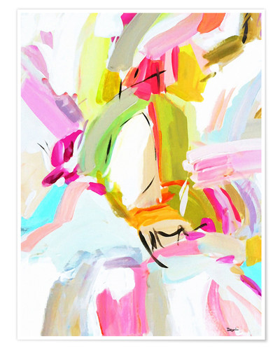 Premium poster Spring abstract