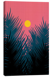 Canvas print  Morning Palm Leaves - Stephen Wade