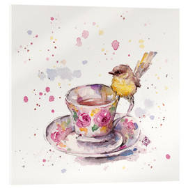 Acrylic print  There Is Always Time For Tea - Sillier Than Sally