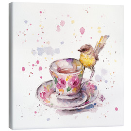 Canvas print  There Is Always Time For Tea - Sillier Than Sally