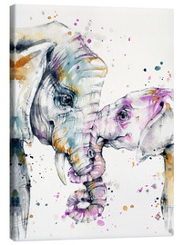 Canvas  That Type Of Love (elephants) - Sillier Than Sally