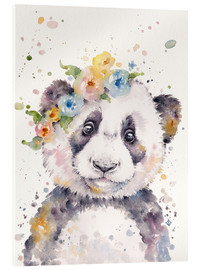 Acrylic glass  Little Panda - Sillier Than Sally