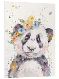 Foam board print  Little panda - Sillier Than Sally