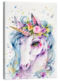 Canvas print  Little unicorn - Sillier Than Sally