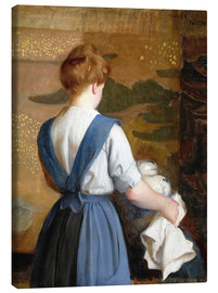 Canvas print  Lizzie - William McGregor Paxton
