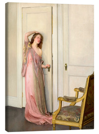 Canvas print  The other door - William McGregor Paxton