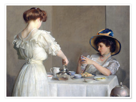 Premium poster  Tea leaves - William McGregor Paxton