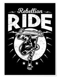 Premium poster Rebellion Ride