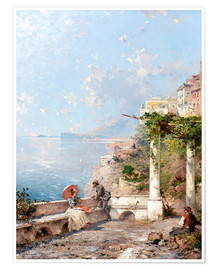 Premium poster Sorrento, Gulf of Naples