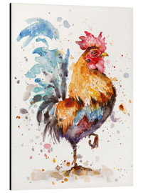 Aluminium print  Proud Rooster - Sillier Than Sally