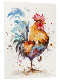 Foam board print  Roosters About - Sillier Than Sally