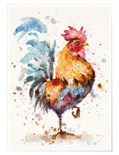 Premium poster Proud Rooster