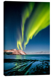Canvas print  Northern Lights Northern Northern II - Sascha Kilmer