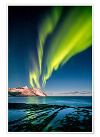 Premium poster Northern Lights Northern Northern II