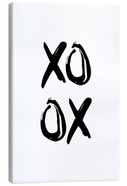 Canvas  XOXO - Typobox