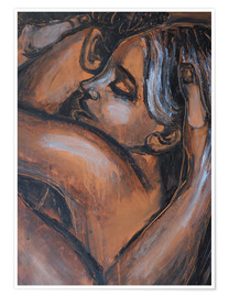 Premium poster  Lovers - Stay With Me - Carmen Tyrrell
