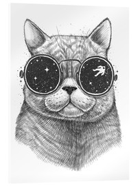 Acrylic print  Space cat - Nikita Korenkov