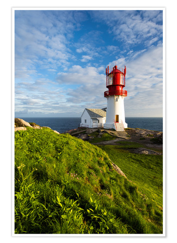 Premium poster Lindesnes Lighthouse