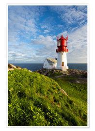 Premium poster  Lindesnes Lighthouse - Dave Derbis