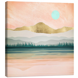 Canvas print  Spring Forest Lake - SpaceFrog Designs