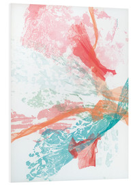 Foam board print  Sea Coral - Jan Sullivan Fowler