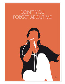 Premium poster No193 MY SIMPLE MINDS Minimal Music poster kopie