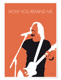 Premium poster Nickelback - How You Remind Me