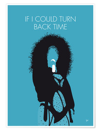 Premium poster Cher - If I Could Turn Back Time