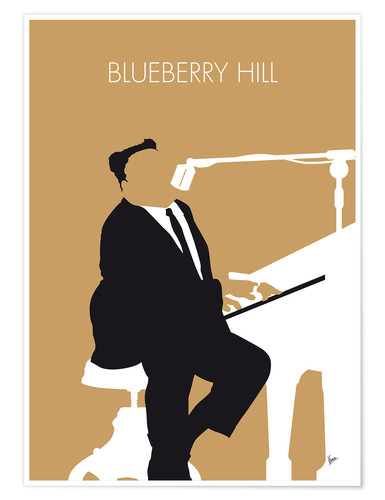 Premium poster Fats Domino - Blueberry Hill