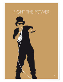Premium poster No180 MY PUBLIC ENEMY Minimal Music poster