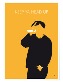 Premium poster 2Pac - Keep Ya Head Up