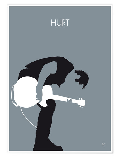 Premium poster Nine Inch Nails - Hurt
