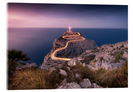 Acrylic print  Evening light at Cap Formentor (Mallorca / Spain) - Kristian Goretzki