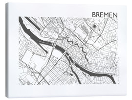 44spaces - City map of Bremen