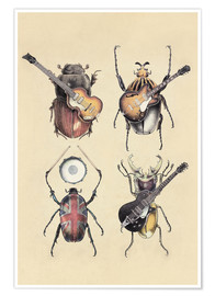Premium poster  Meet the Beetles - Eric Fan
