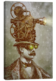 Canvas print  The projectionist - Eric Fan