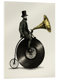 Acrylic print  Music Man - Eric Fan