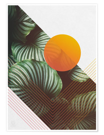 Premium poster Tropical summer