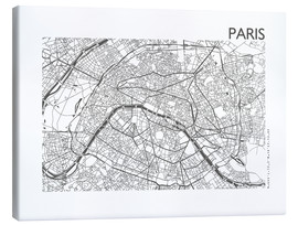 44spaces - Map of Paris