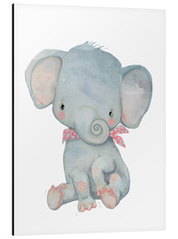Alu-Dibond  My little elephant - Kidz Collection