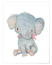 Poster  My little elephant - Kidz Collection