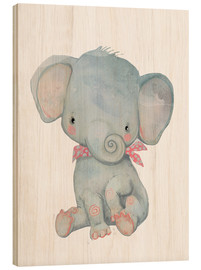 Wood  My little elephant - Kidz Collection