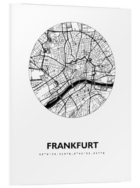 Forex  City map of Frankfurt - 44spaces