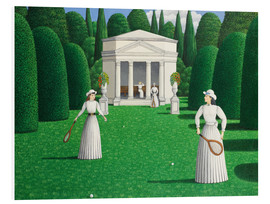 Forex  Edwardian Ladies Playing Tennis - Larry Smart