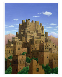 Poster  Beyond the Valley of the Kasbahs - Larry Smart