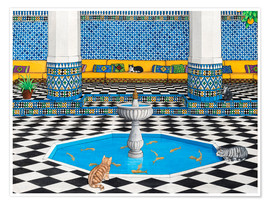 Poster  Cool Cats in Marrakech - Larry Smart