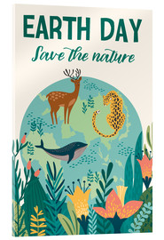 Acrylic print  Nature conservation design - Kidz Collection