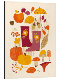 Aluminium print  Autumn days - Kidz Collection