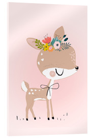 Acrylic print  Deer Rosalie - Kidz Collection